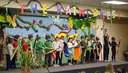 Kindergarten and Grade 5 Students Bring the Rainforest to Life