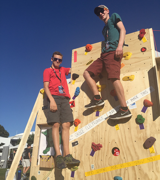 Leading the Maker Movement – Friends' Central Students Shine at World Maker Faire