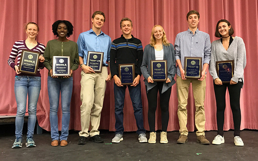 Friends' Central Honors Outstanding Fall Athletes