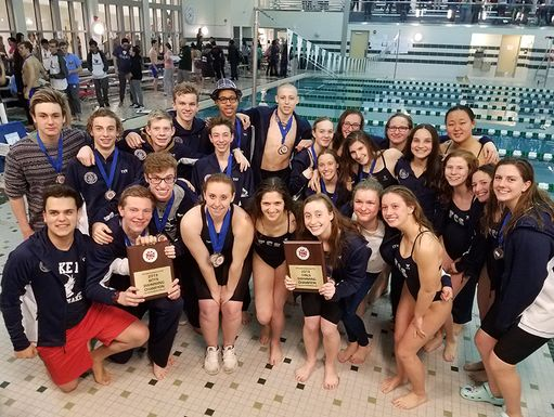Friends' Central Swimmers Win 2017-2018 FSL Championships!