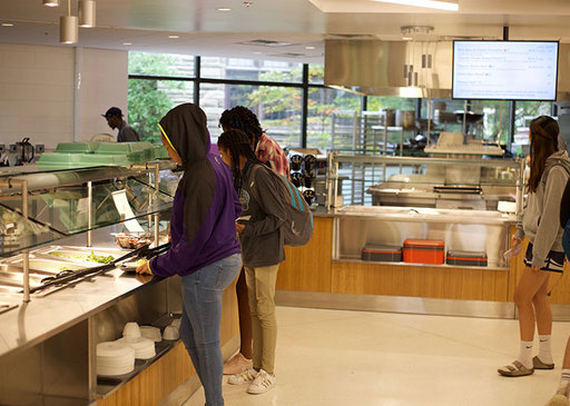 New Exciting, Delicious, and Sustainable Highlights to Middle & Upper School Dining!