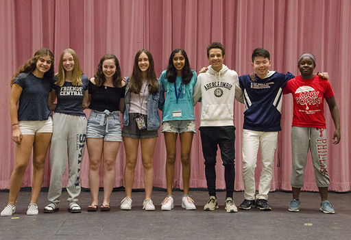 Friends' Central Recognizes Middle School Students for Their Citizenship