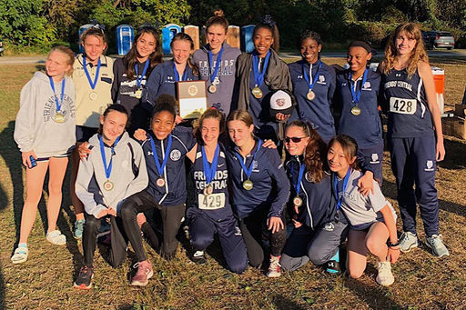 Girls' Cross Country State and FSL Champs!
