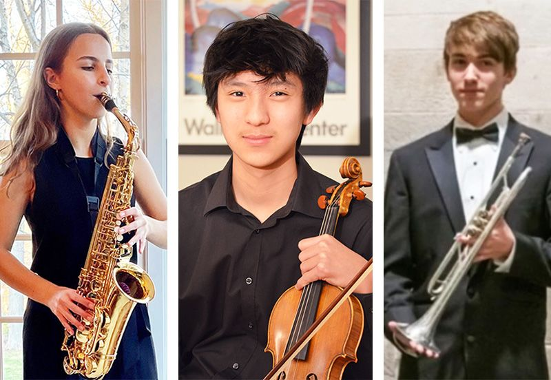 Three Friends' Central Students are PMEA District 11 Winners
